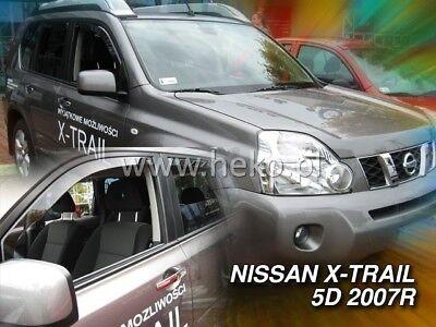 Windabweiser NISSAN X-TRAIL II 5-türer 2007-2013 4-tlg HEKO dunkel Regenabweiser