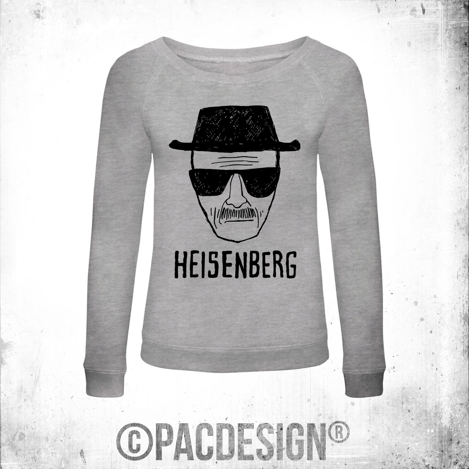 FELPA women BREAKING BAD HEISENBERG FACE WHY SO VINTAGE PD0001A