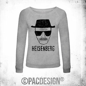 So Breaking Pd0001a Face Heisenberg Felpa Donna Bad Why Vintage FnvCCB