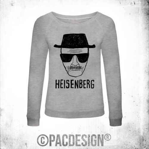 FELPA DONNA BREAKING BAD HEISENBERG FACE WHY SO VINTAGE PD0001A