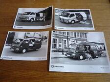 "Vauxhall Bedford Midi van Original fotos de prensa X 4 FOLLETO"""""