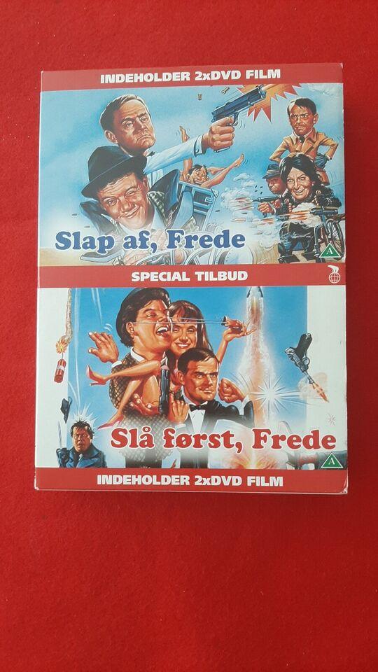Slå først Frede, instruktør finn, DVD