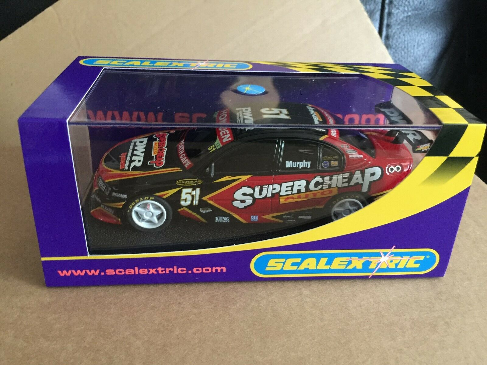 RARE SCALEXTRIC HOLDEN COMMODORE VY SUPERCHEAP NO 51 REF C2692 L@@K