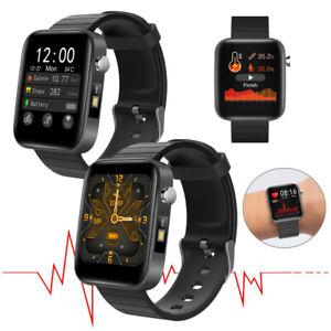 2020 Smartwatch Körpertemperatur Herzfrequenzmesser Fitness Tracker für Handy