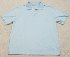 Nike-Golf-Dri-Fit-Blue-Polyester-Mens-Polo-Shirt-Extra-Large-Short-Sleeve-XL-C13