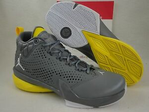 outlet store 368a4 84cc1 Image is loading Nike-Jordan-flight-Time-14-5-Grey-Yellow-