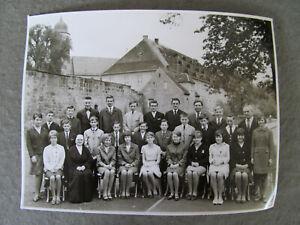 Weismain   Mädchen Jungs  Schulmädchen Klassenfoto 1966 Foto  Alt & ORIGINAL