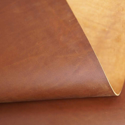 Tooling Leather Square 2.0mm Thick Full Grain Cowhide Leather Craft 5//6OZ Brown