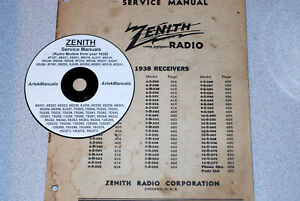 Zenith Radio 1938 Service Manual For 67 Different Models Ebay. Is Loading Zenithradio1938servicemanualfor67different. Wiring. Zenith Tube Radio Schematics 1938 At Scoala.co
