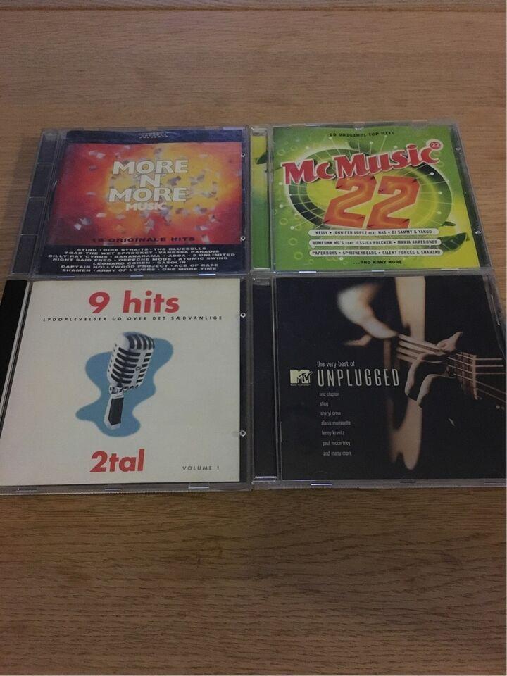 Blandet: Blandende cd'er, pop