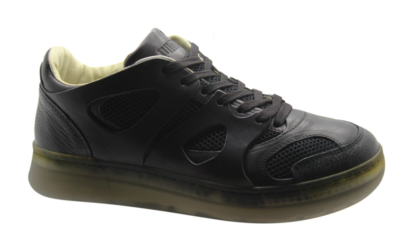 Puma Alexander McQueen McQ Move Lo Up Mens Trainers Black Lace Up Lo 357156 02 U19 f33cb9