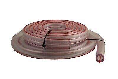 "Milk hose//tube transparent for goat or cow milking machine 1//2/""ID 8Ft Melasty"