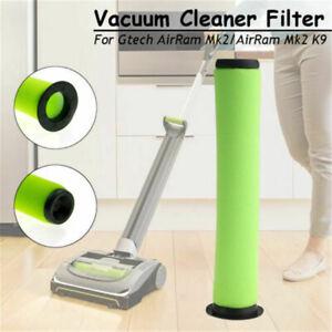 Details about 2pcs Washable Bin Stick Filter FOR GTECH AIRRAM MK2 K9 Cordless Vacuum Cleaner