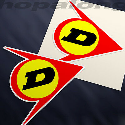 . x2 Retro style Sticker Decals