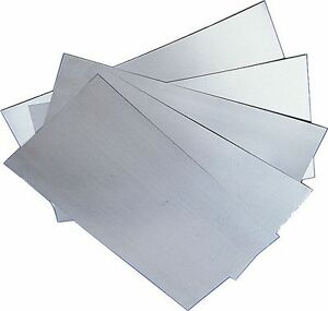 Sheet metal mild steel plate thick various sizes ebay for Thin aluminum sheets for crafts