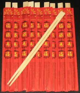 10-Paar-chinesische-Essstaebchen-Staebchen-Chopsticks