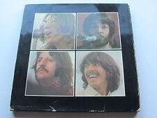 THE BEATLES   ORIGINAL 1970  UK LP  LET IT BE  BOX SET RED APPLE POSTER -2U -2U