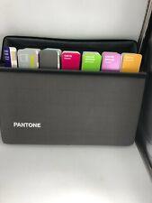 Pantone Essentials Color Guide Set Kit 8 Fan Swatch Books W Carrying Case Lk
