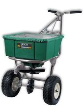 Lesco Push Spreader w// Cover 50 Lbs #092807