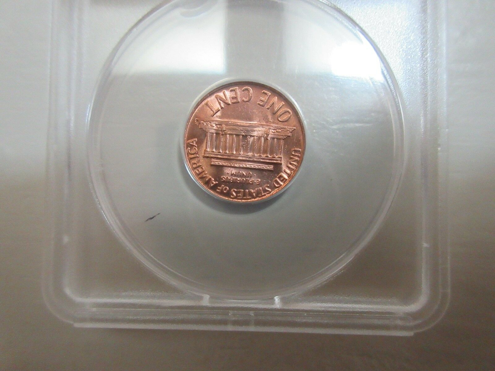 1970-S , Lincoln Cent , ANACS , MS 65 RED Large Date