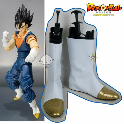 New Dragon Ball Z Kai super Saiyan Vegeta Prince Cosplay shoes Bootes HH.056