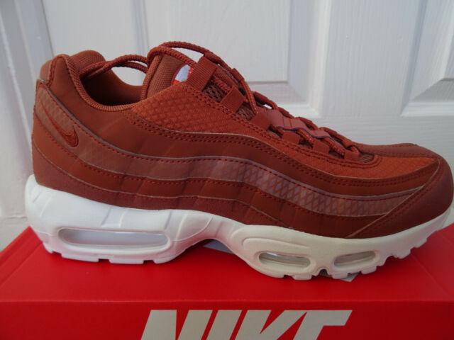 Mens Nike Air Max 95 Premium SE Size 7.5 EUR 42 (924478 200) Dusty Peach White