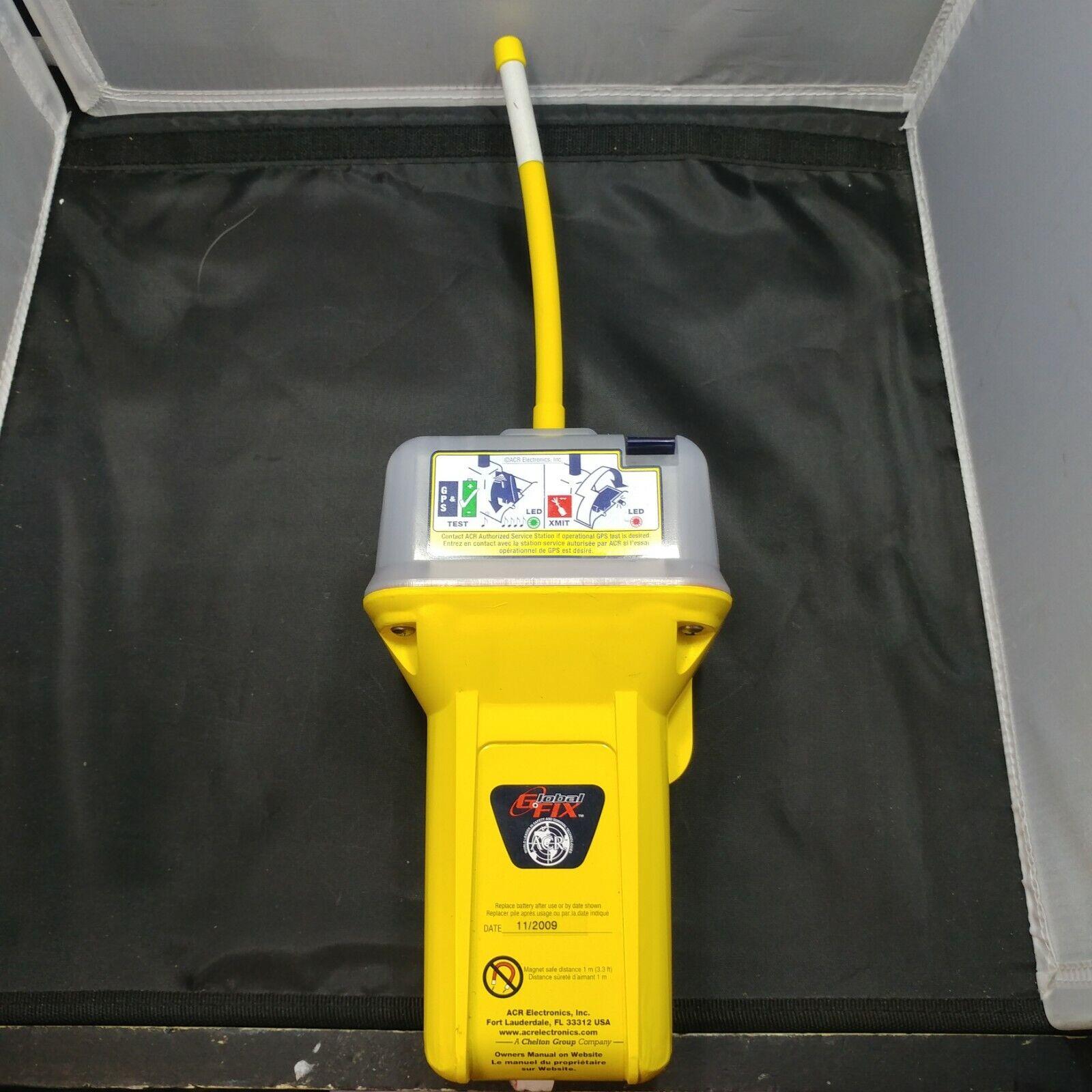 ACR Globalfix Pro 406 Mhz GPS EPIRB 2742 RLB-35 Emergency Radio Beacon Cat 1