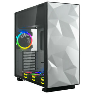 Rosewill-ATX-Mid-Tower-Gaming-RGB-Computer-Case-with-Tempered-Glass-and-Fans