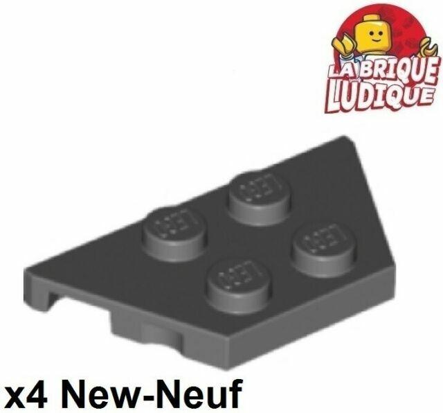 2x 6192 LEGO rundstein 2x4 nouveau sombre gris dark bluish grey 4295572 4590786