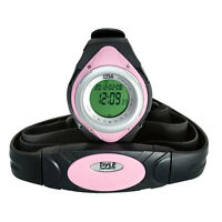 New Pyle Sports PHRM38PN Heart Rate Monitor Watch,Calories, Target Zones, Pink