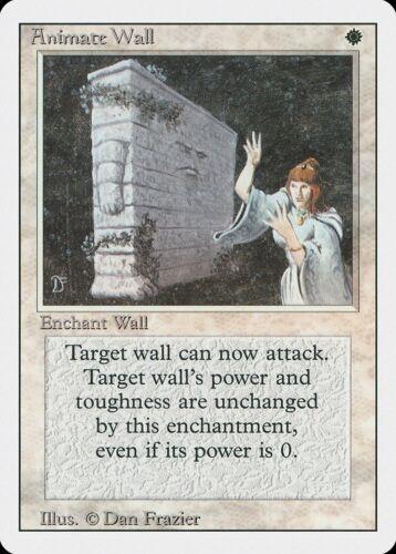 Animate Wall Revised NM White Rare MAGIC THE GATHERING MTG CARD ABUGames