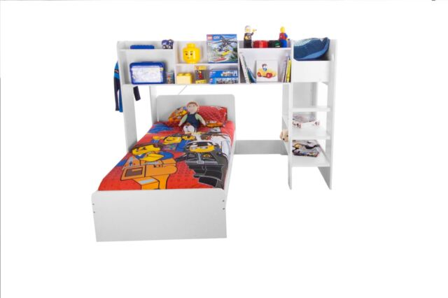 Flair Furnishings Wizard Junior L Shaped Bunk Bed For Sale Online