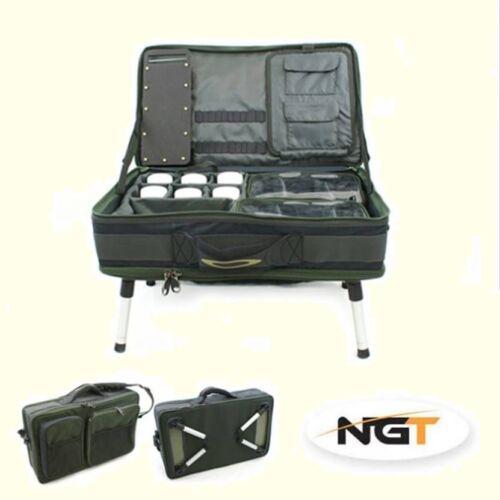 Complete Carp Fishing Tackle Bivvy  Box System Carryall Bag Rig Station 5-88