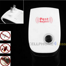 2X Electronic Ultrasonic Pest Repellent Repeller For Mosquito Insect Bug Mouse