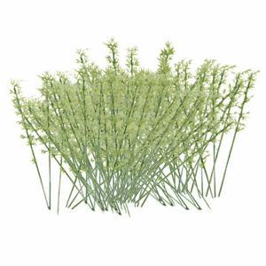 70Pcs Assorted Railway Scenery Model Green Tree 1:100 Scale Landscape Toy