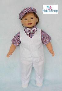 Details Zu Baby Boy Christening Smart Suit Hat Outfit Waistcoat Shortsleeve Bodyshirt White