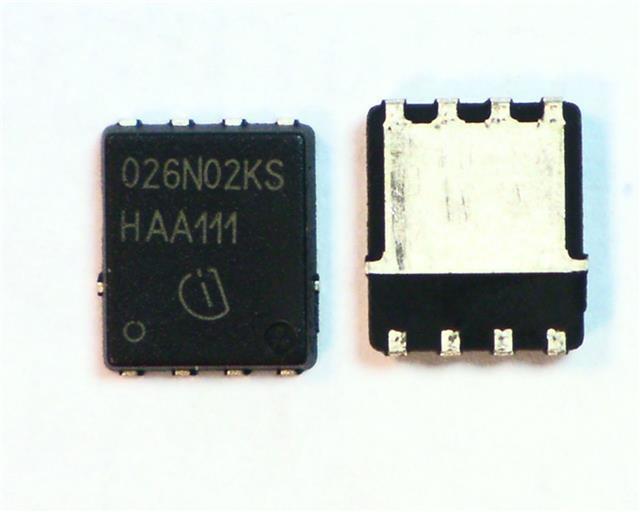 2 x IRL1104PBF n-ch mosfet transistor 104A 40V 5V gate arduino