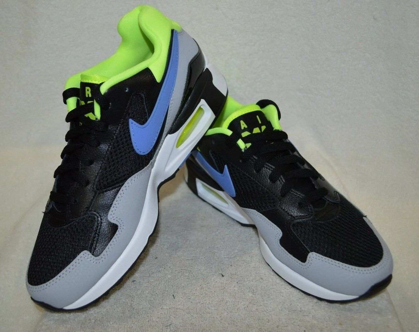 Nike Air Max ST Black Black Black Polar Volt Grey Women's Sneakers - Assorted Sizes 4a5aee