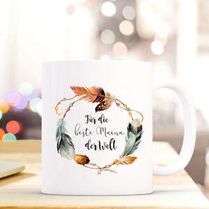 Tassen Freundschaftlich Tasse Becher Kaffeetasse Muttertag Mit Spruch Für Die Beste Mama Der Welt Ts631 üBerlegene Leistung