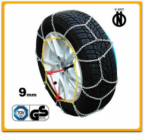01//2013-/> CATENE DA NEVE 9MM 205//55 R16 TOYOTA AURIS TOURING SPORTS