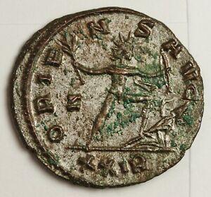 Roman Empire Aurelia 270-275 AD.  Silvered.  High Grade.  139206