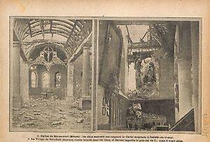 Ruines-Eglise-de-Malancourt-Meuse-Vierge-de-Bouchoir-Obus-WWI-1915-ILLUSTRATION