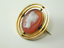 9CT-Gold-Vintage-Hardstone-Cameo-Brooch-3-3-Grams thumbnail 3
