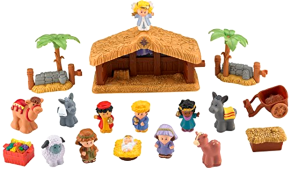Fisher Price Little People Christmas Nativity Jesus Mom Mary #4