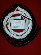 3 core 0.75sqmm coiled PVC cable. 1000mm coil.