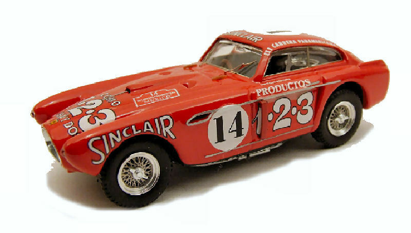 Ferrari 340 Mexico  14 Carrera messicana 1952 Ascari scotuzzi 1 43 MODEL 0191