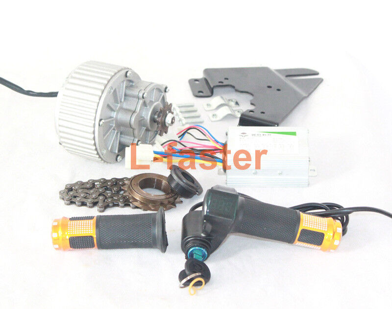 450W E-Bike  Drive System Electric Bicycle Motor Kit Thredtle Power Switch B  buy cheap