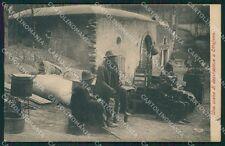 Napoli Ottajano Ottaviano SCOLLATA cartolina QT1066