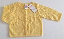 NWT Gymboree Lemon Tree 6-12 Months Yellow Pointelle Cardigan Sweater
