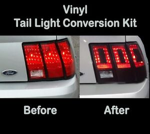 Image Is Loading 1999 2000 2001 Ford Mustang Tail Light Conversion